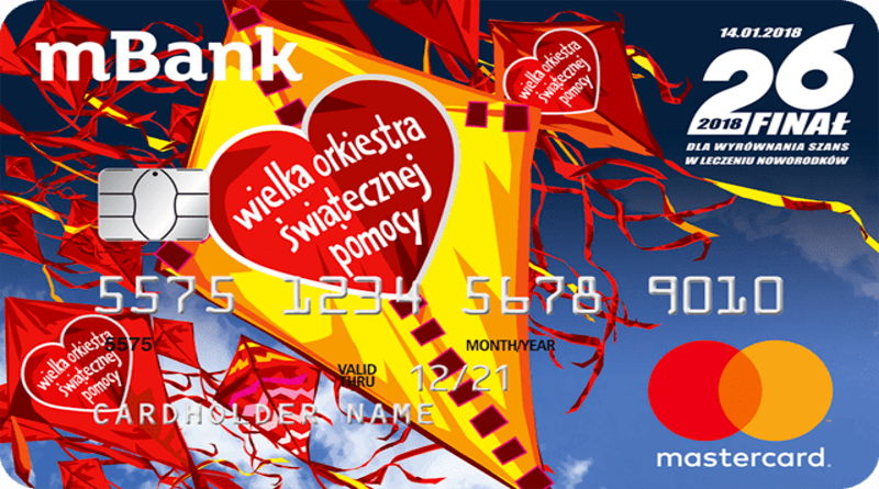 mBank podwaja wpłaty na Wielką Orkiestrę Świątecznej Pomocy