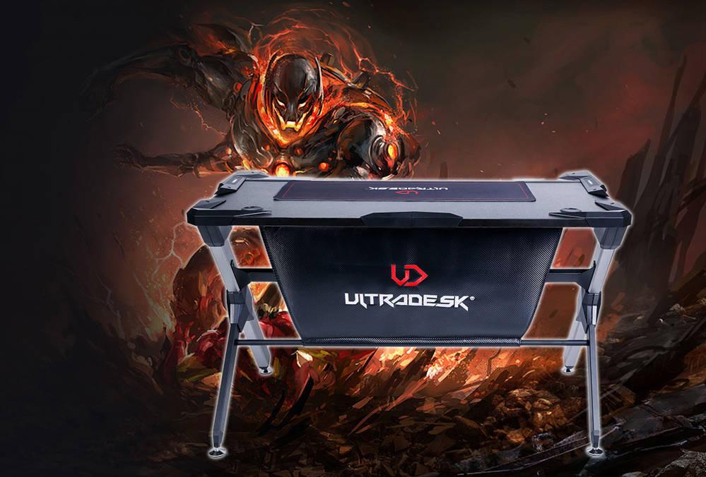 Ultradesk GT – przełomowe biurko dla gracza